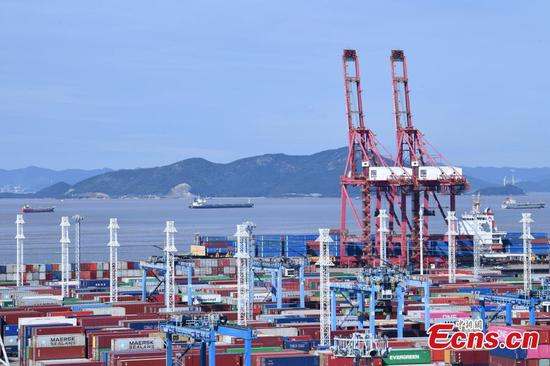 Cargo throughout of Ningbo-Zhoushan Port increases 5.3% YOY