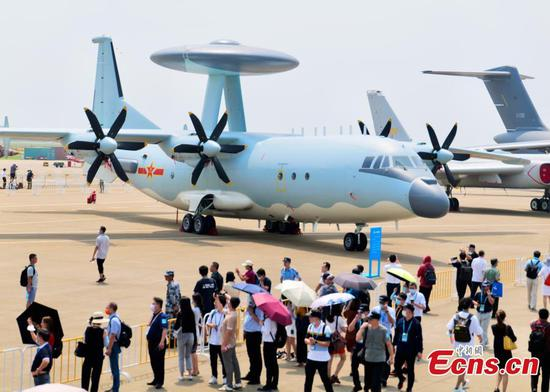 Airshow China 2021: Chinese air force wows spectators