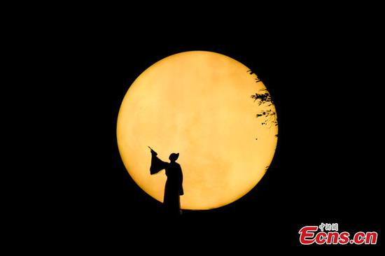 5D immersive light show reveals glory of Chinese ancient literature