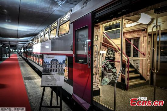 Paris Museum Train launched, adds literary touch to travel