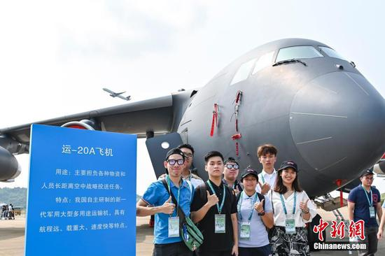 HK and Maocao teens visit Airshow China 2021 in Zhuhai