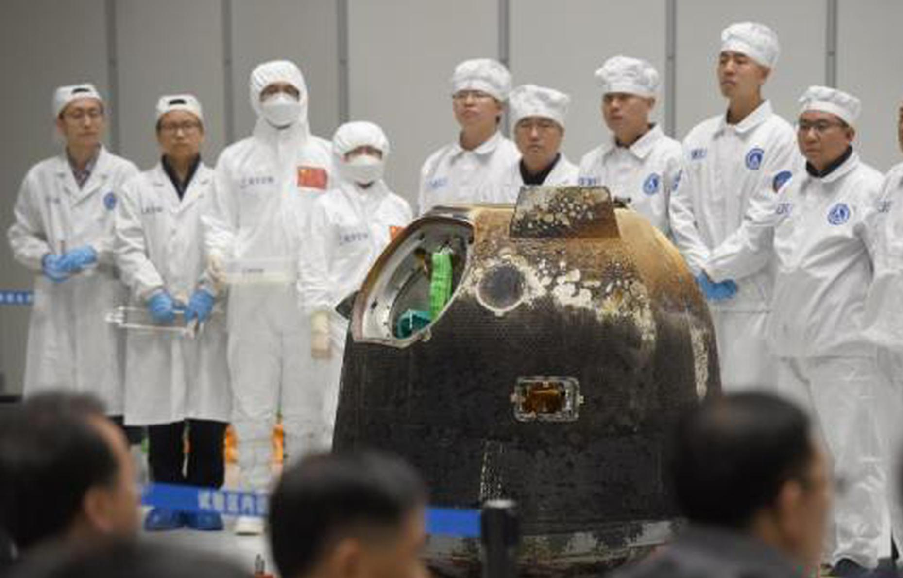 Lunar samples brought back by Chang'e-5 identified as youngest rocks ever found on the Moon