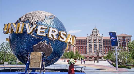 Universal Beijing Resort a National Day hit