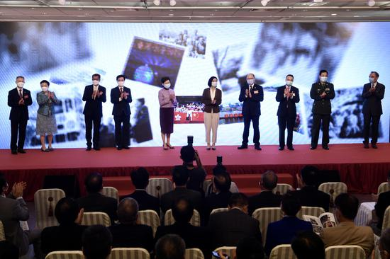 Photo exhibition featured patriotism opens in Hong Kong