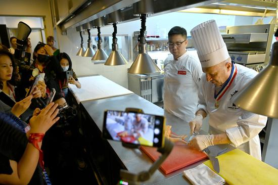 Good French cuisine campaign opens in Beijing