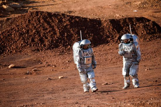 Scientists simulate life on Mars in a rocky Israeli crater
