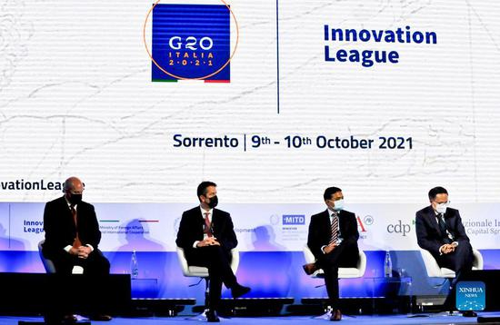 Chinese startup among winners of G20 Innovation League competition