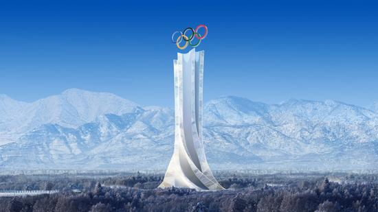Solar tower to be transformed into iconic landmark for Beijing 2022