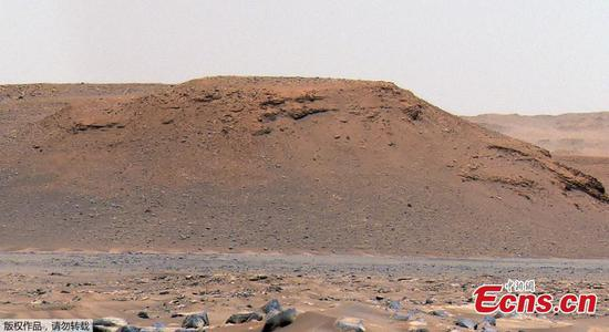Perseverance rover finds evidence of ancient flash floods on Mars