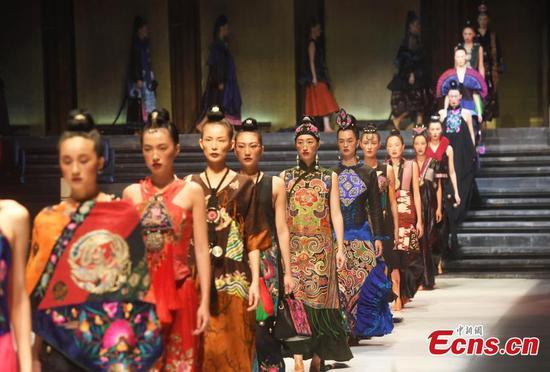 2021 China Chongqing International Fashion Week kicks off