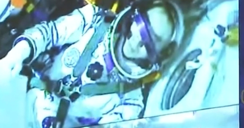 China's Shenzhou-13 crewed spaceship docks with space station module