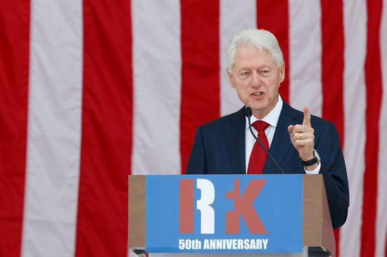 Former U.S. president Clinton released from Southern California hospital