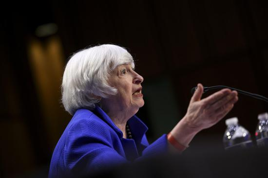 Yellen expects U.S. inflation to fall to acceptable levels in second half of next year