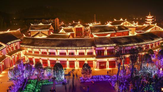 奢香古镇夜景