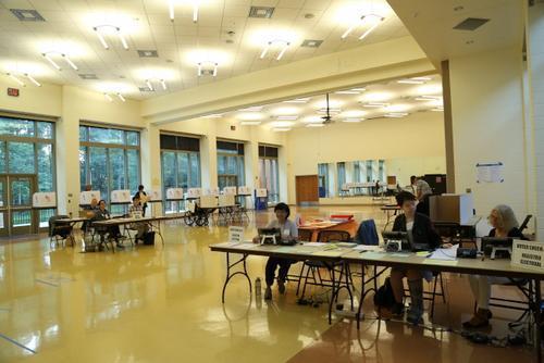 资料图: 2018年6月26日,美国马州初选日登场,无论是投票、做义工,还是参选,都能见到马州华人的参政身影。(美国《世界日报》/罗晓媛 摄)