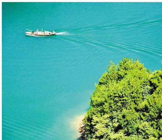 千岛湖风光。