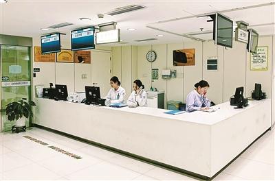 寧波市第一醫院健康管理中心。(陳敏 攝)