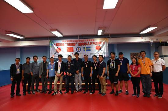 参加比赛的还有陈增、王俞力、夏海龙、赵丽杰和卢琦等,都获得了荣誉奖章。