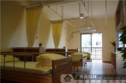福利院居住环境。广西新闻网记者 刘家财 摄
