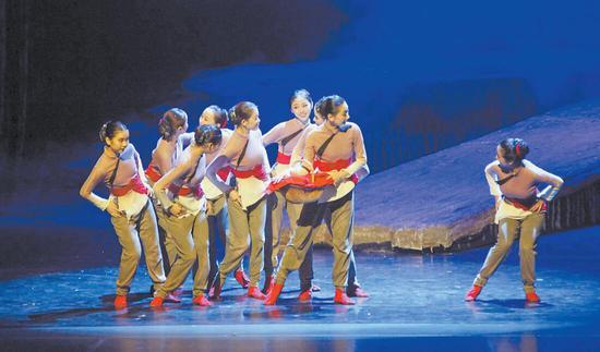 红色民族舞剧 《乳娘》在银川上演