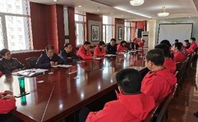 11月3日,宁夏体育局组织召开宁夏代表团参加第四届全国智力运动会出征大会,各项目领队、教练员、运动员参会。