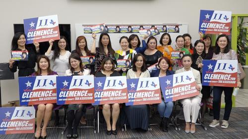 休斯敦华裔女子竞选郡税务总长 为华人参政做榜样