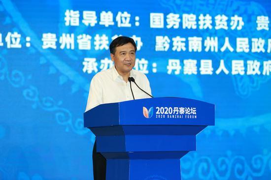 浙江省人大常委会党组副书记、副主任李卫宁讲话。杜朋城 摄