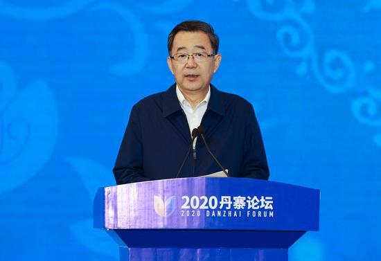 省委书记、省人大常委会主任孙志刚致辞。杜朋城 摄
