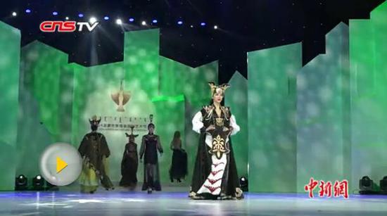 争奇斗艳 蒙古族服装服饰艺术节开幕