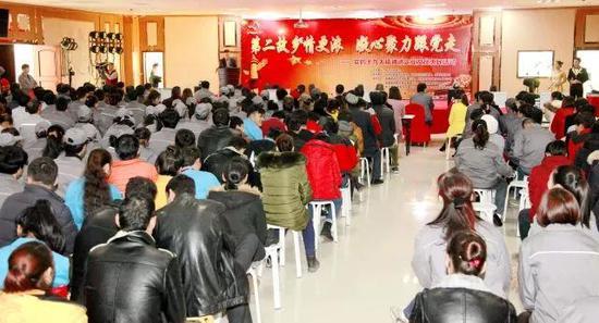 库尔勒开发区举办十九大精神进企业文化惠民活动