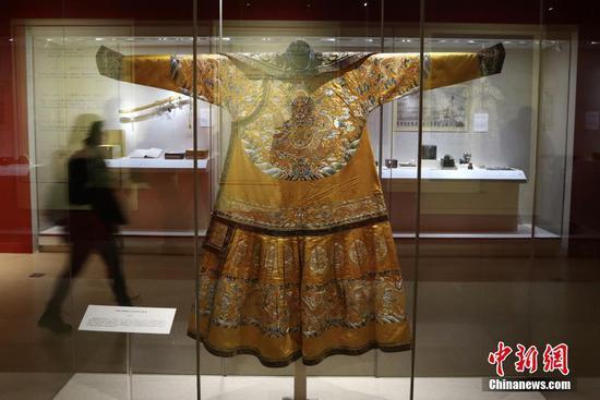 故宫279件国宝文物亮相南京博物馆