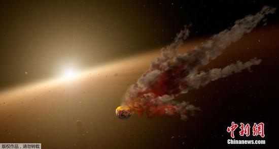 """美宇航局公布""""最神秘恒星""""照 亮度变化或源于尘埃遮挡"""