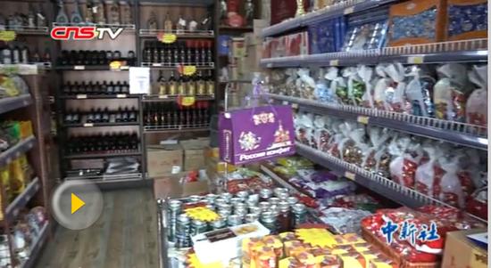 中亚食品走俏乌鲁木齐年货市场