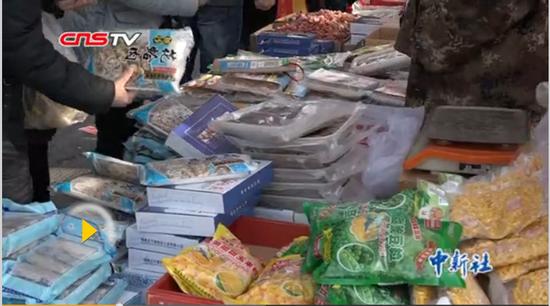 探访乌鲁木齐市民的年货菜篮子 品类丰富样样全