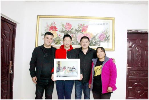 热比克·吾甫:我和亲戚一起过春节