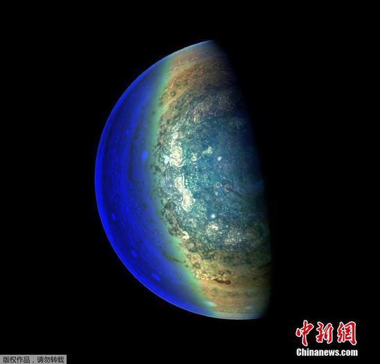 NASA发现木星内部喷射气流和模式气旋