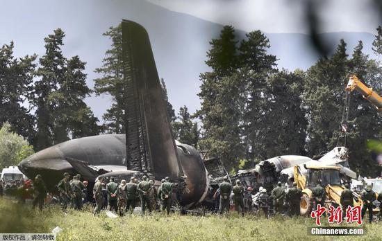阿尔及利亚史上最严重空难 军机坠毁致257人丧生