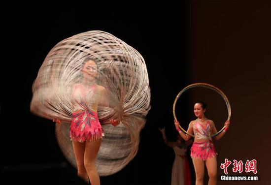 北京残疾人艺术团赴美国休斯敦演出