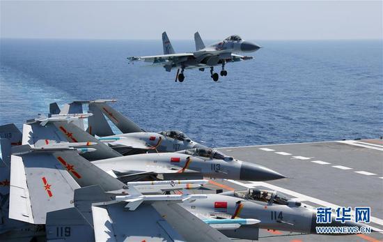海军航母编队持续实兵对抗提升体系作战能力