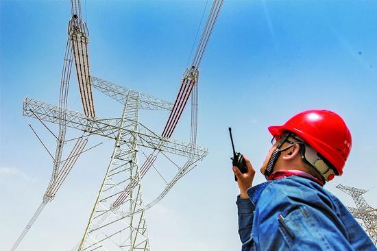 准东-皖南特高压输电工程新疆段开始全面验收