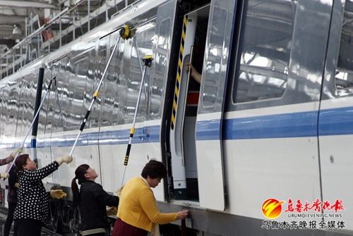 乌市地铁1号线北段空载试运行满月 整体安全平稳