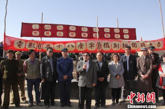 影片《五十八座半》8日在新疆策勒开机,国内著名演员郑昊担任主演。 朱景朝 摄