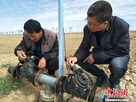 新疆兵团推广太阳能电子自动化节水灌溉