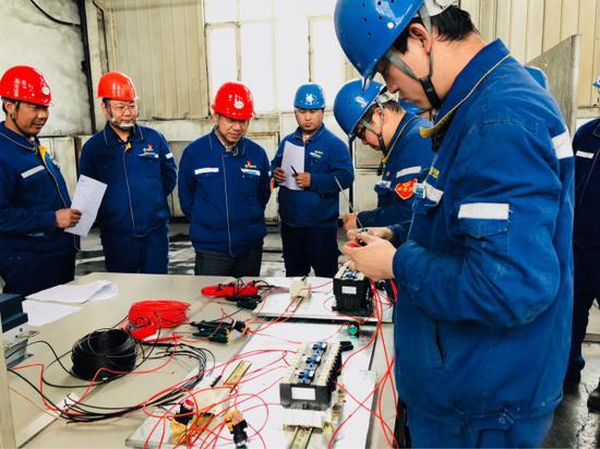 天业电石产业系列技能比武活动促企业持续发展。