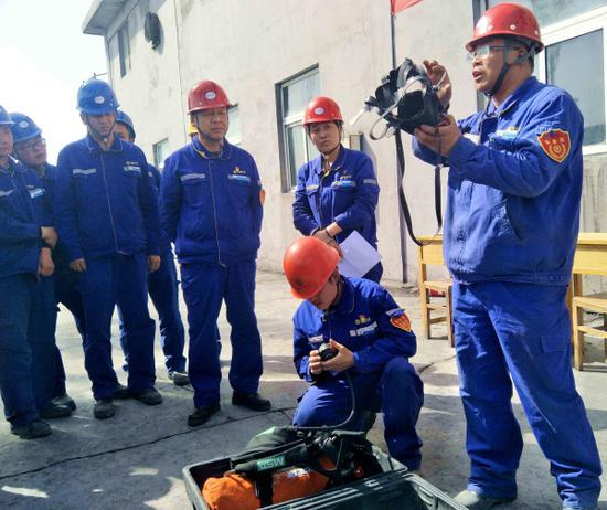 天业电石产业系列技能比武活动促企业持续发展 。