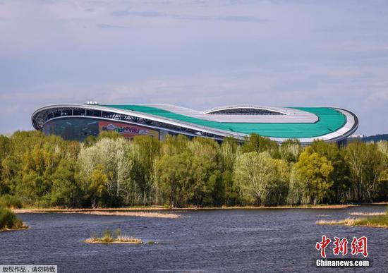 俄罗斯世界杯前夕 走进喀山竞技场