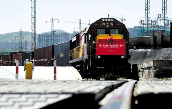 中欧班列乌鲁木齐集结中心开行1230列 通达17国