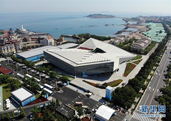探访上海合作组织青岛峰会新闻中心