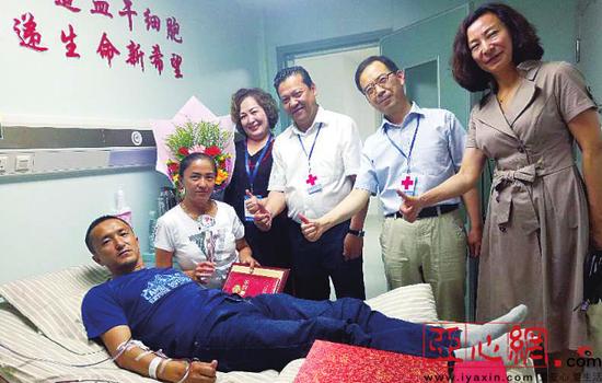 新疆青年为河南白血病男孩捐献造血干细胞
