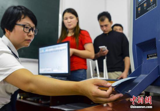 新疆7所高校开设火车票销售窗口